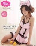 日本热销公主情趣睡衣四件套(柔滑布料)
