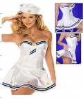 新款性感女海军游戏制服三件套