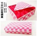 维康专利炭布防潮抗菌之24格内衣收纳盒