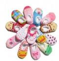 日系超卡哇伊棉质蕾丝花边儿童卡通船袜