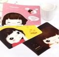 韩版新款可爱女孩滑鼠垫