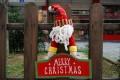 圣诞雪人挂牌