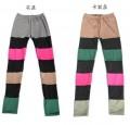 韩版时尚彩色打底裤