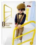 韩版潮流儿童贝雷帽