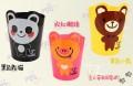 日韩可爱动物桌面收纳桶/笔筒/垃圾桶