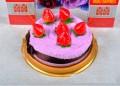 生日蛋糕毛巾礼盒
