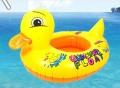 小鸭婴儿充气游泳艇