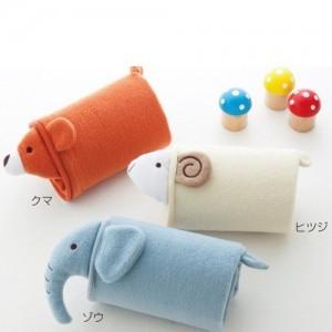 日版动物款宝宝空调毯