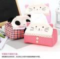韩版可爱猫咪纸巾盒/纸巾套