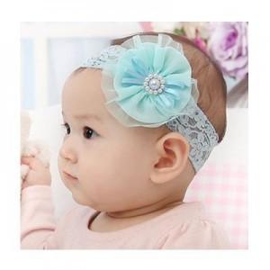花儿蕾丝宝宝发带
