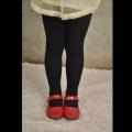 新款波浪针织女童连裤袜