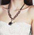时尚宝石项链