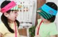 韩版可爱熊遮阳帽