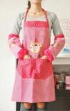 厨房达人必备成人小熊防污围裙